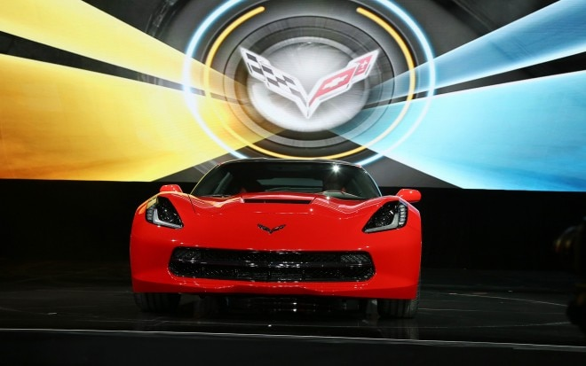 2014 Chevrolet Corvette Live Reveal Front View12