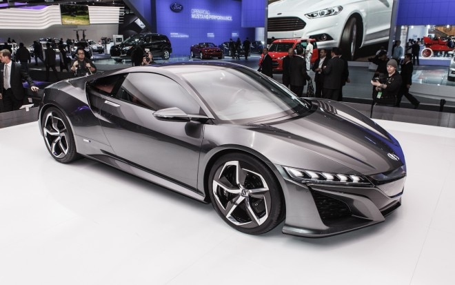 Acura NSX Concept Front Three Quarter 21