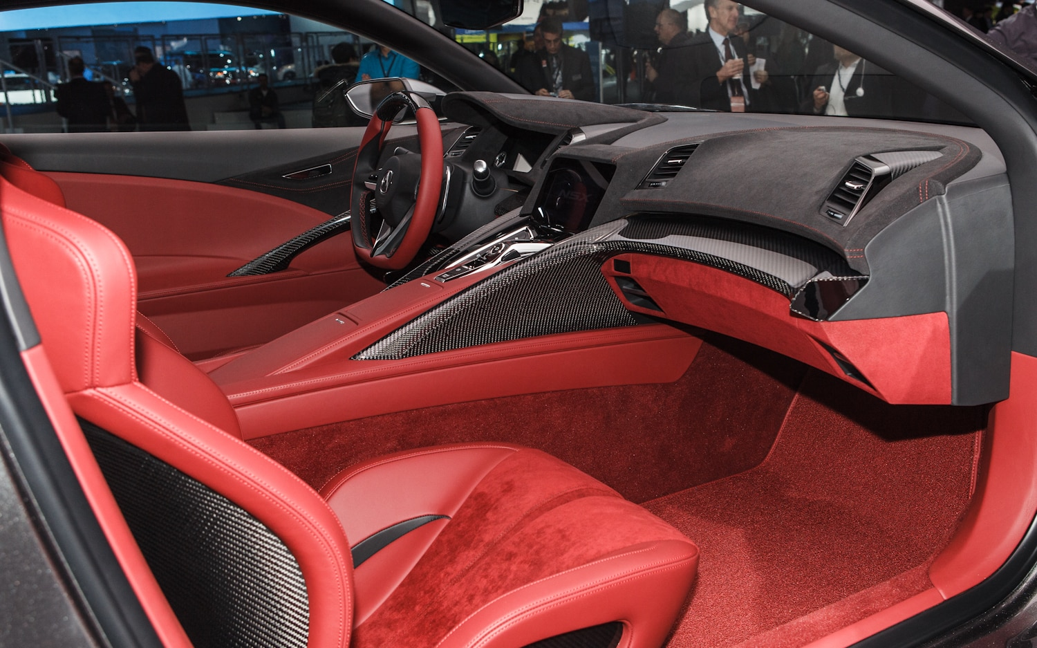 detroit 2013 acura stuns with the nsx concept again. Black Bedroom Furniture Sets. Home Design Ideas