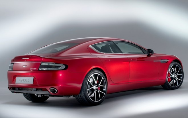 Aston Martin Rapide S Right Rear 21 660x413