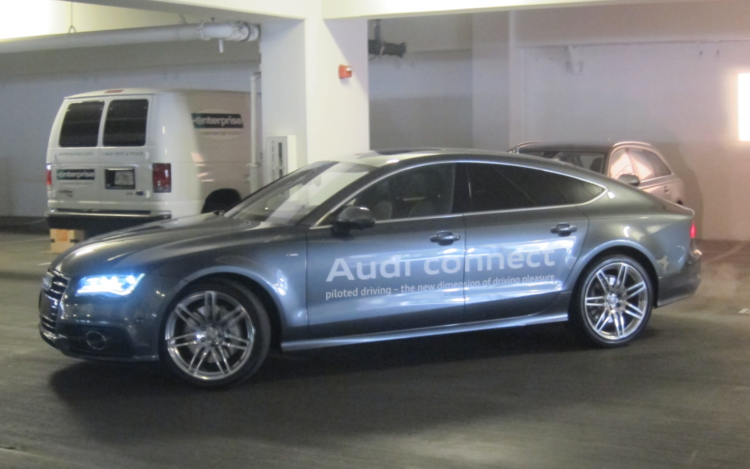 Audi Piloted Driving Demo 11