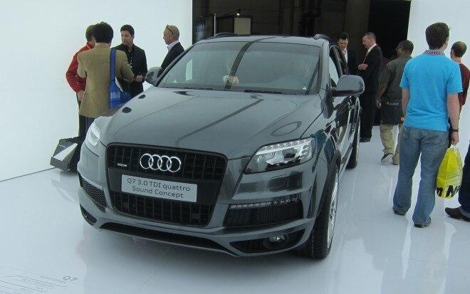 Audi Q7 Sound Concept Front Three Quarter1 660x413