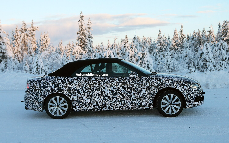 Audi S3 Convertible Prototype Right View1