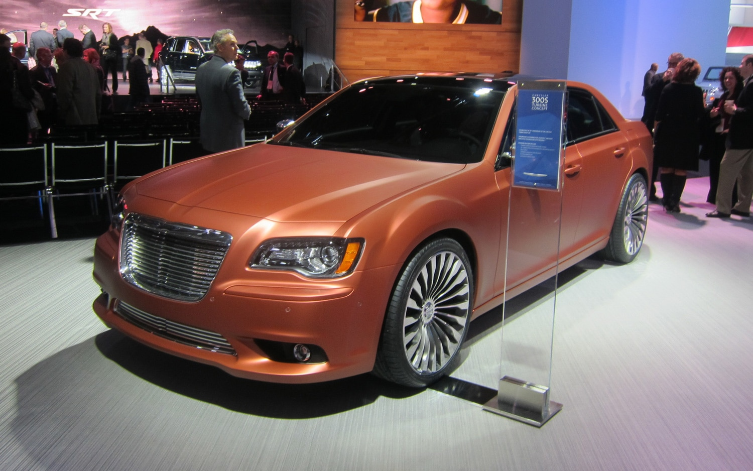Chrysler 300S Turbine Concept Front Three Quarter1