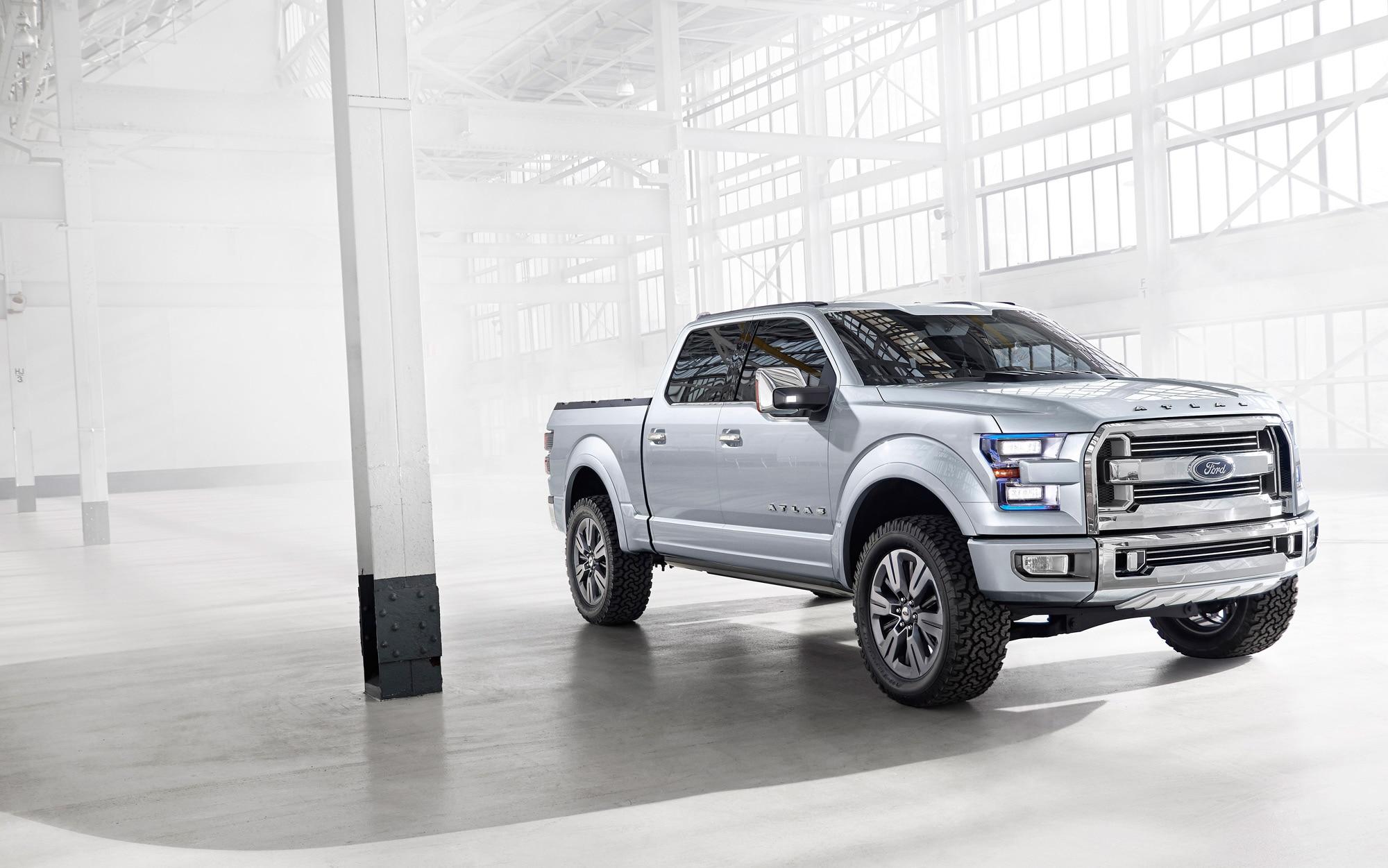 Ford Atlas Concept 2013 Detroit Auto Show Automobile Magazine