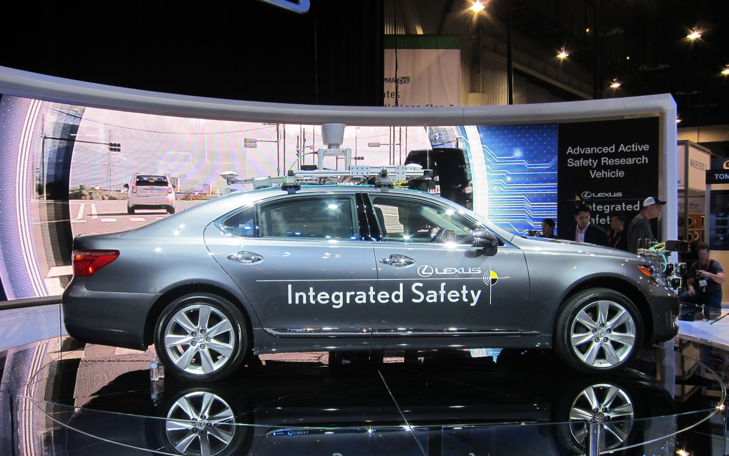 Lexus Advanced Active Safety Research Vehicle Profile1