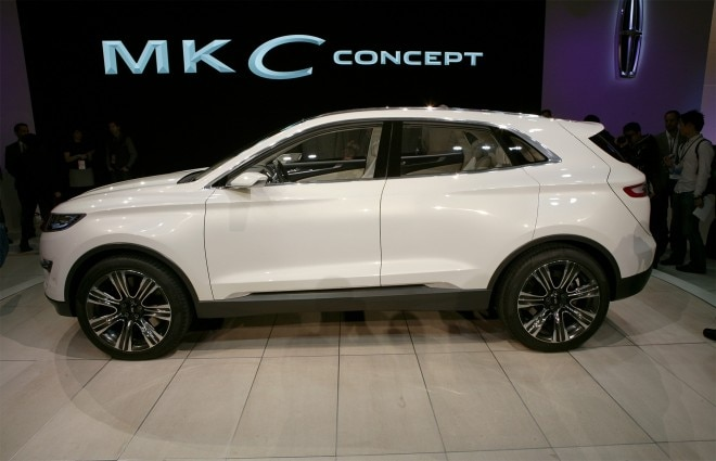 Lincoln MKC Concept Left Side1 660x425
