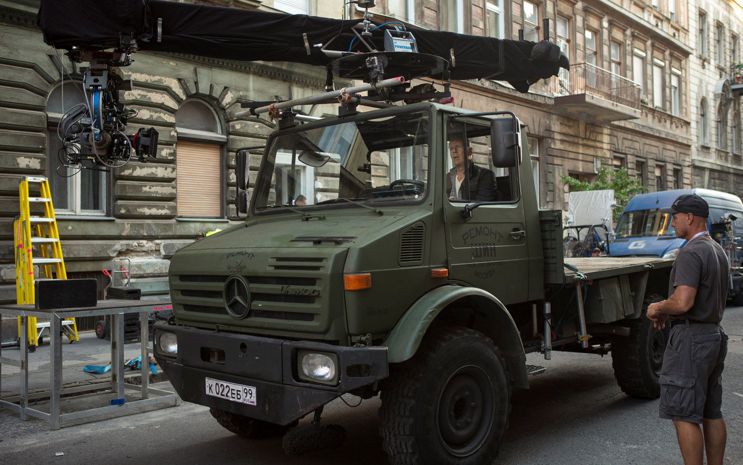 Mercedes Benz Unimog Front Three Quarter Camera1