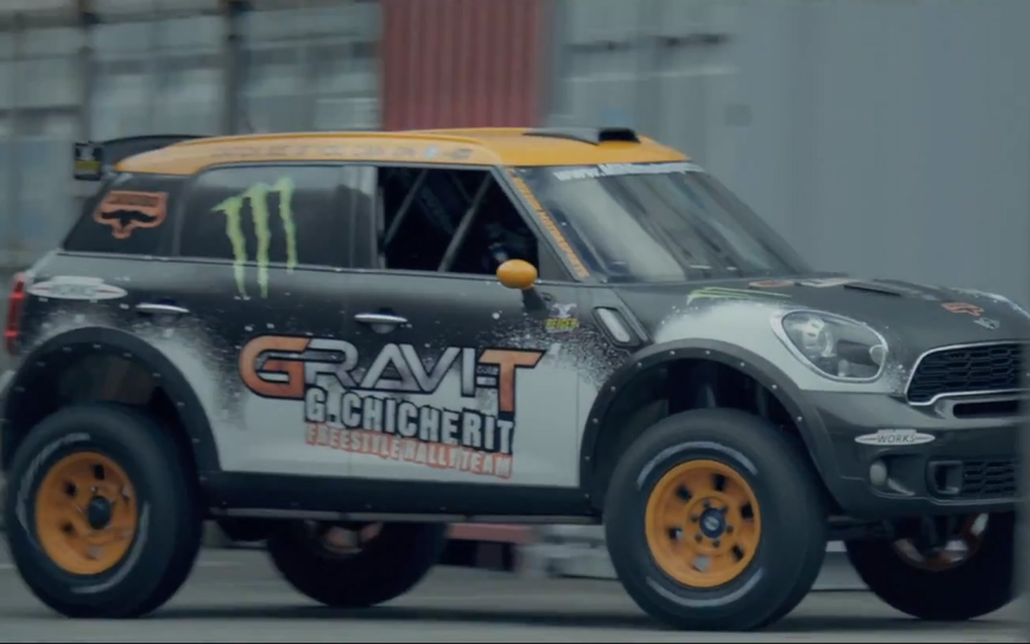 Modified Mini Countryman John Cooper Works Backflip Video Image 21