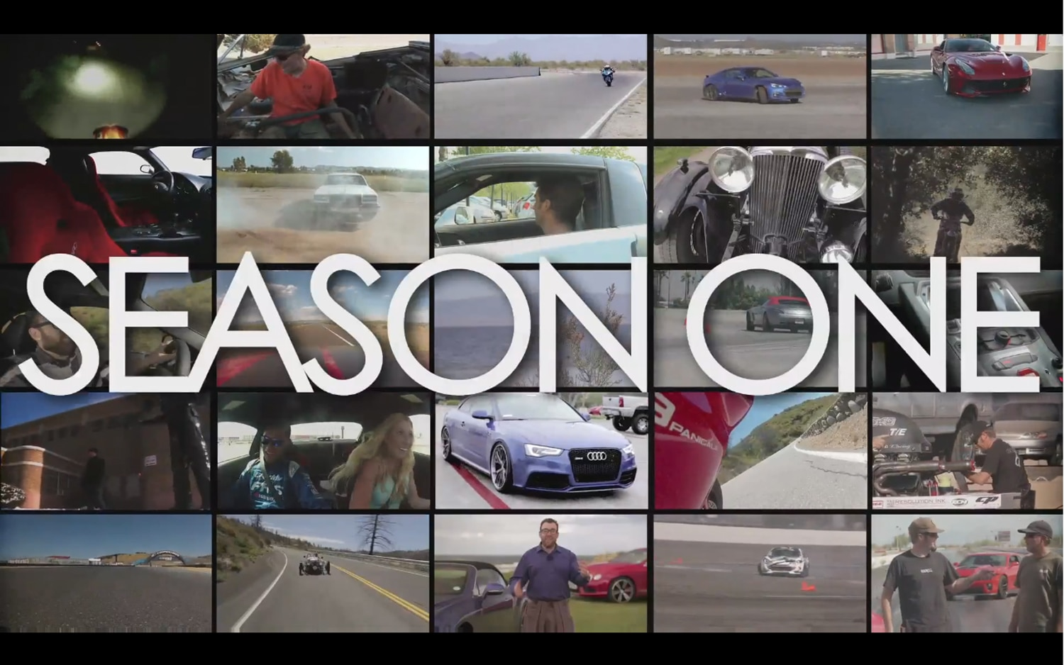 Motor trend youtube video hosts look back at 2012 preview for Motor trend channel youtube