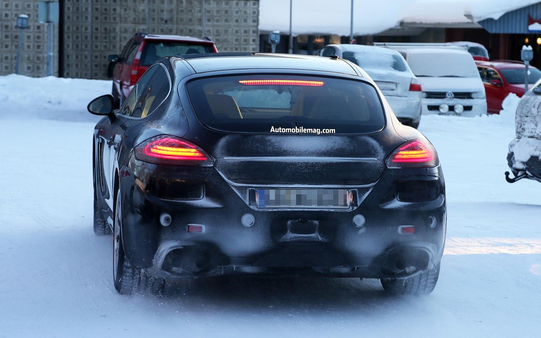 Porsche Panamera Rear Spy Shot 21