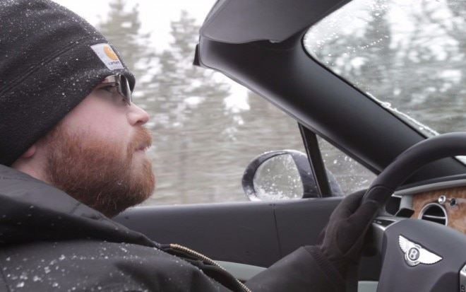 Rusty Driving Bentley Up North1 660x413