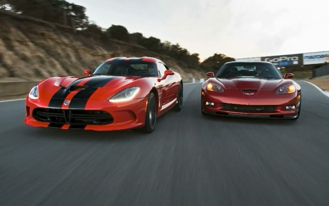 SRT Viper GTS Vs Chevrolet Corvette ZR1 Head 2 Head Image 21 660x413