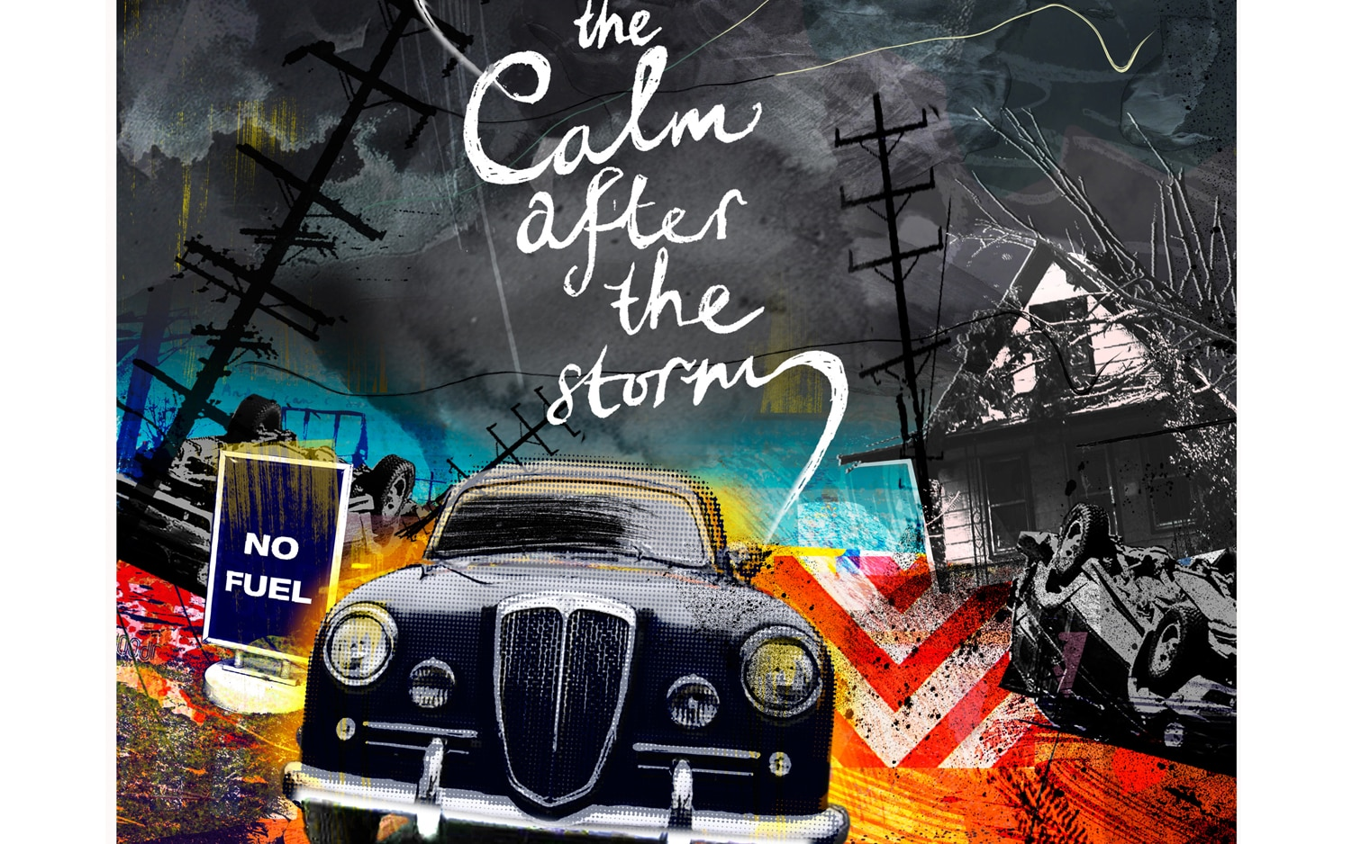 The Calm After The Storm Illustration Cropped