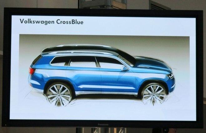 Volkswagen CrossBlue Concept 660x426