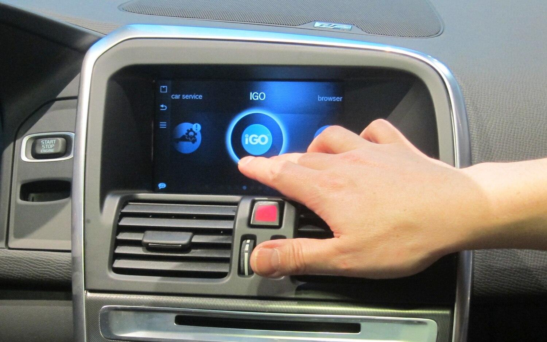 Volvo Ericsson Touchscreen App Menu1