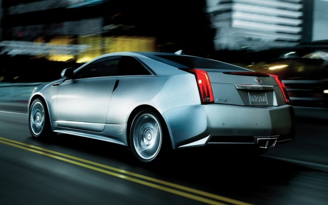 2013 Cadillac CTS Coupe Rear Three Quarter1 660x413