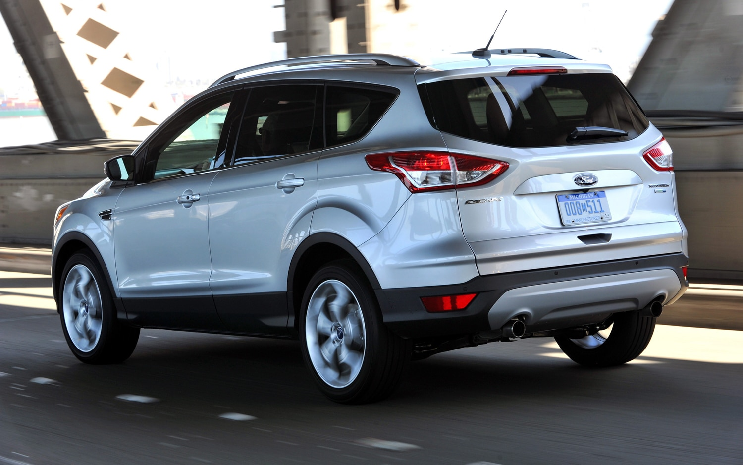2013 Ford Escape Left Rear View1