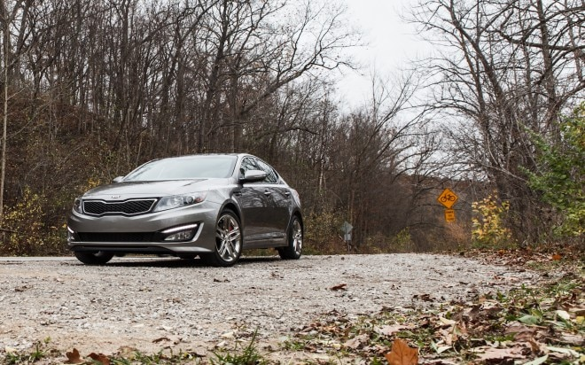 2013 Kia Optima SX Limited Front Left View 21 660x412