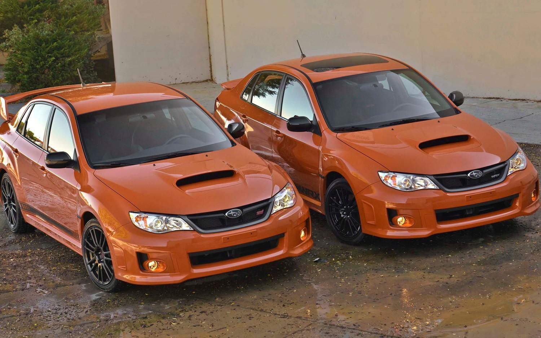 2013 Subaru WRX And STI Special Editions1