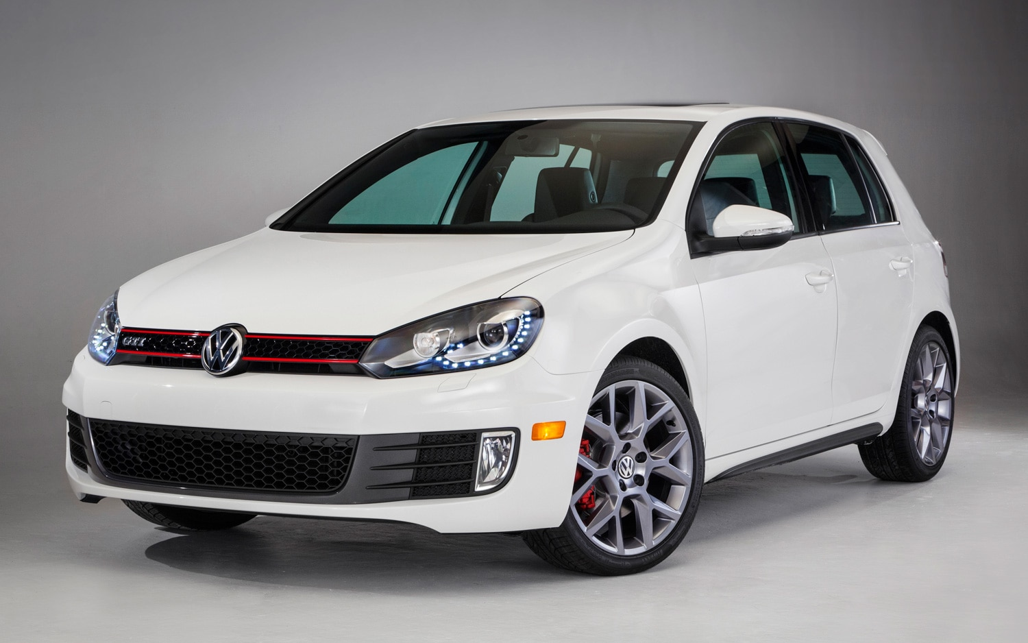 2013 Volkswagen GTI Drivers Edition Front Three Quarters View