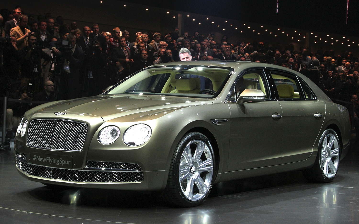 2014 Bentley Flying Spur Front1
