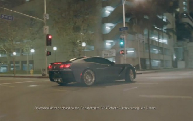 2014 Chevrolet Corvette Commercial1 660x413