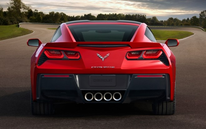 2014 Chevrolet Corvette Rear11 660x413