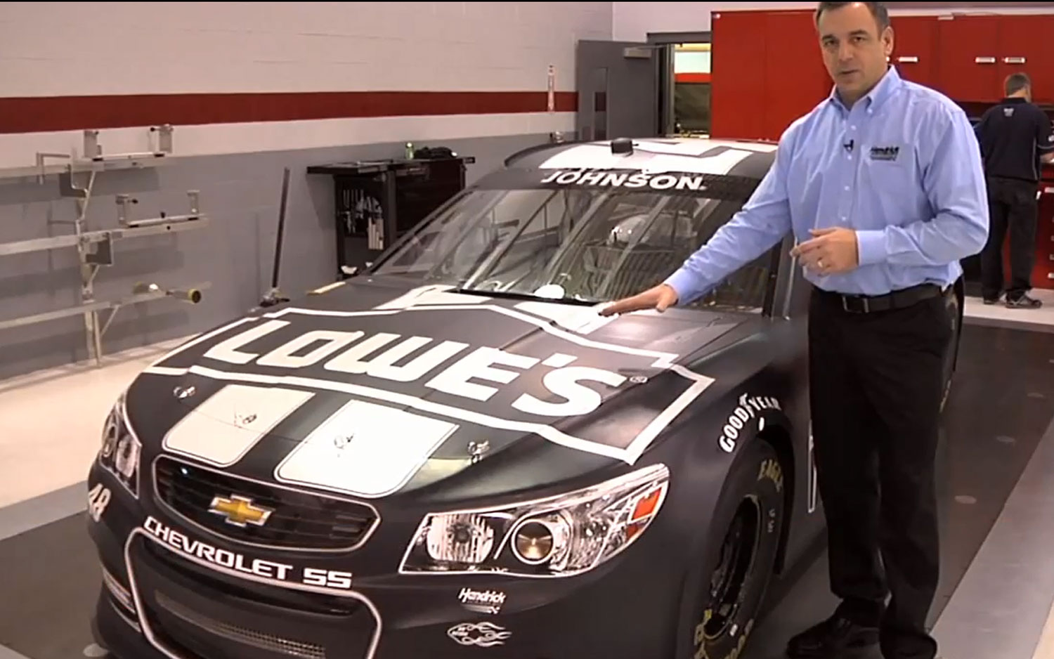 2014 Chevrolet SS NASCAR Front Angle1