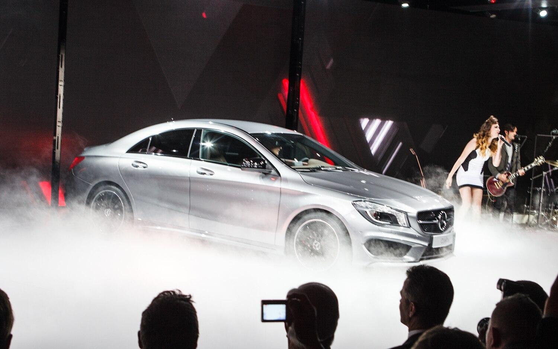 2014 Mercedes Benz CLA Patrick M Hoey Detroit Auto Show Preview 1