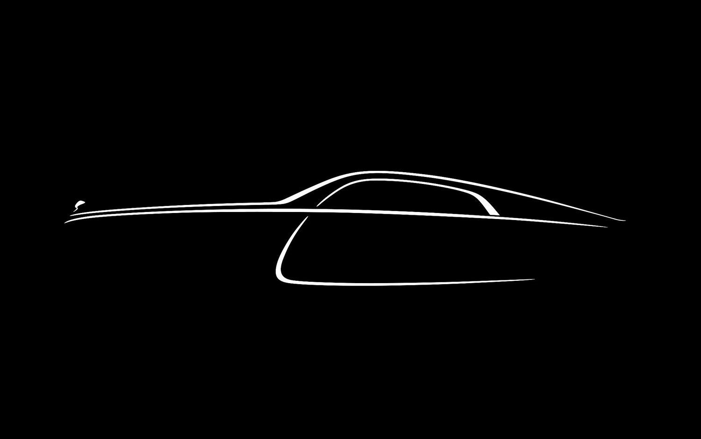 2014 Rolls Royce Wraith Profile Sketch1