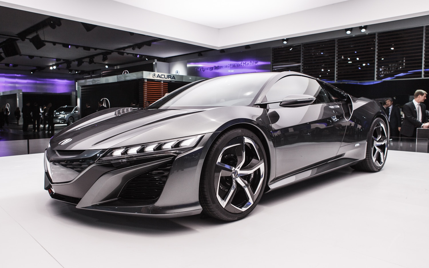 Acura NSX Concept Front Three Quarter1