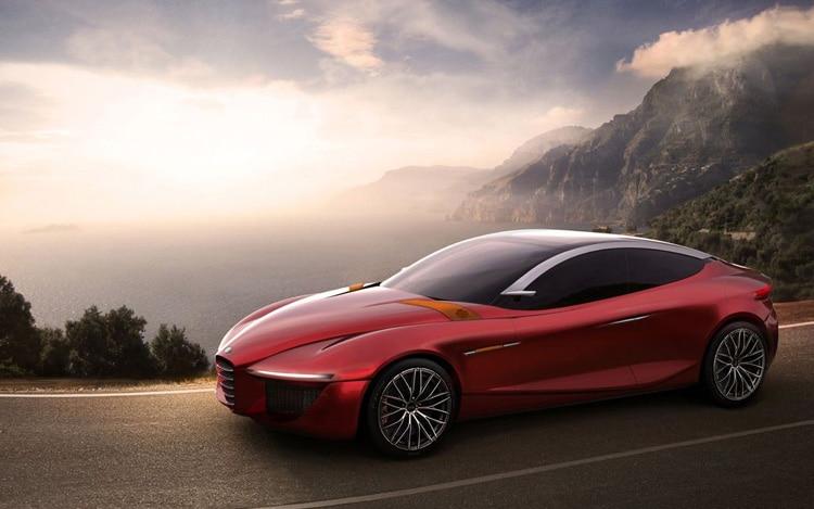 Alfa Romeo IED Concept Front Three Quarter
