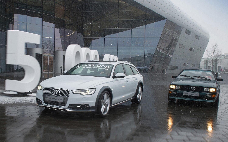 Audi 5 Million Quattros 31