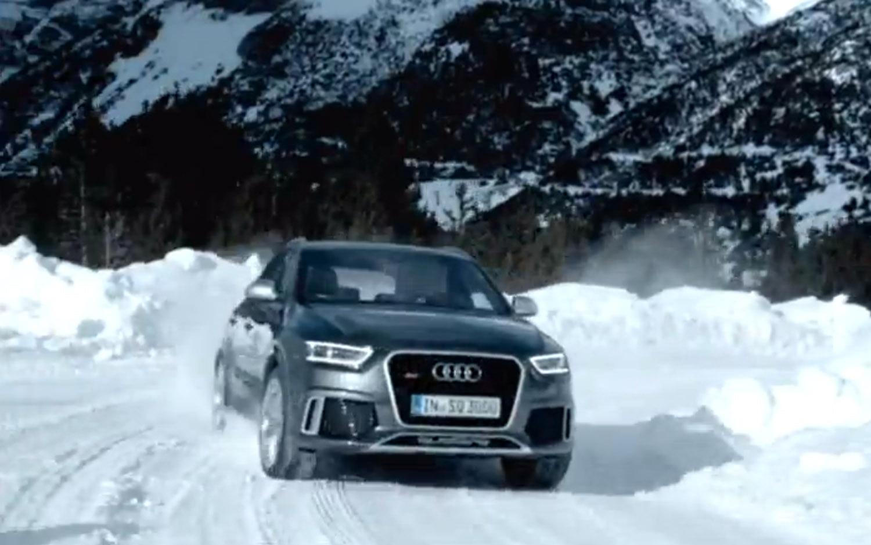 Audi RS Q3 Front Three Quarter Snow1