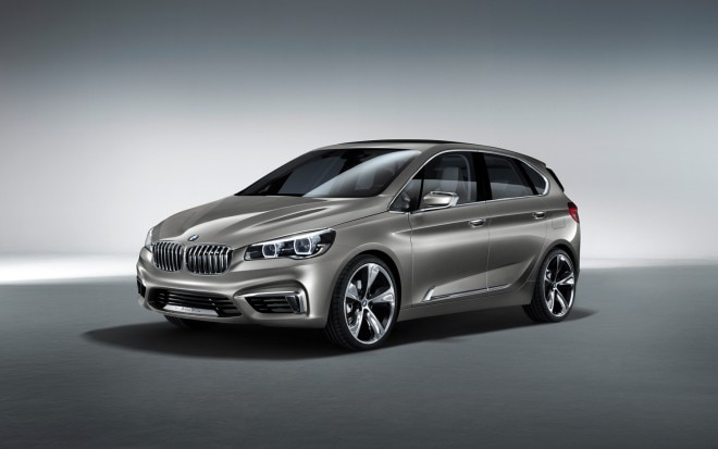 BMW Concept Active Tourer Front 34 View1 660x413