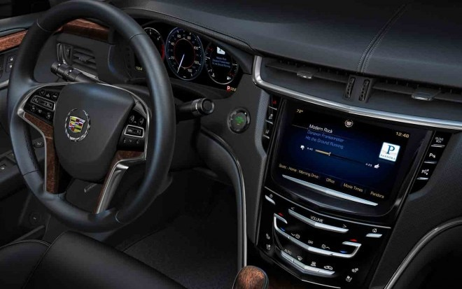 Cadillac CUE Infotainment System1 660x413