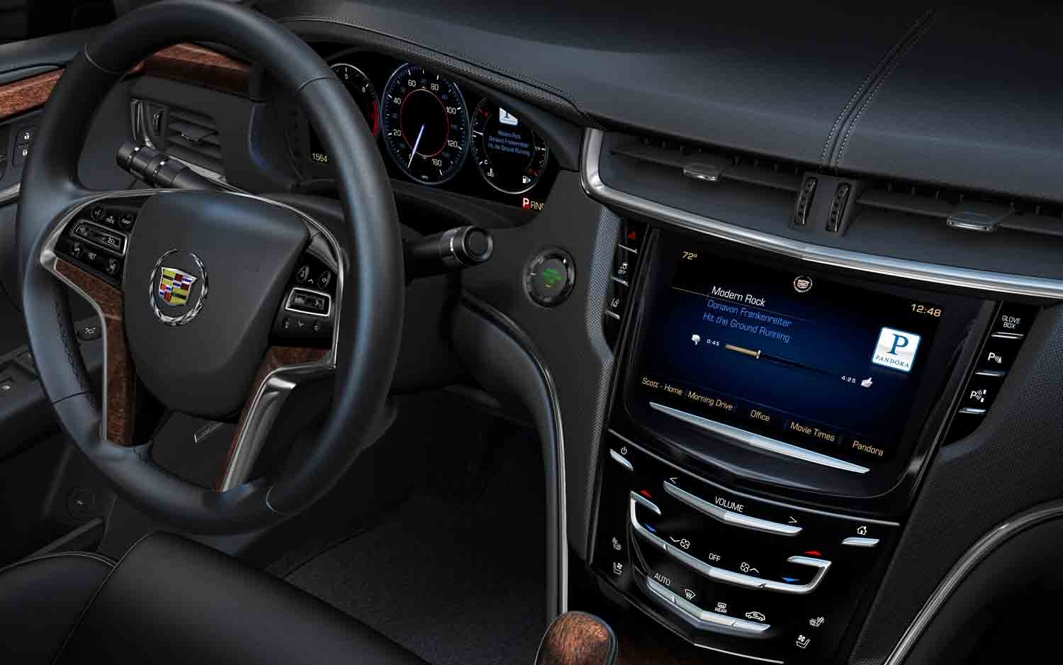 Cadillac CUE Infotainment System1