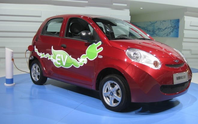 Chery Riich M1 EV Front Three Quarter1 660x413