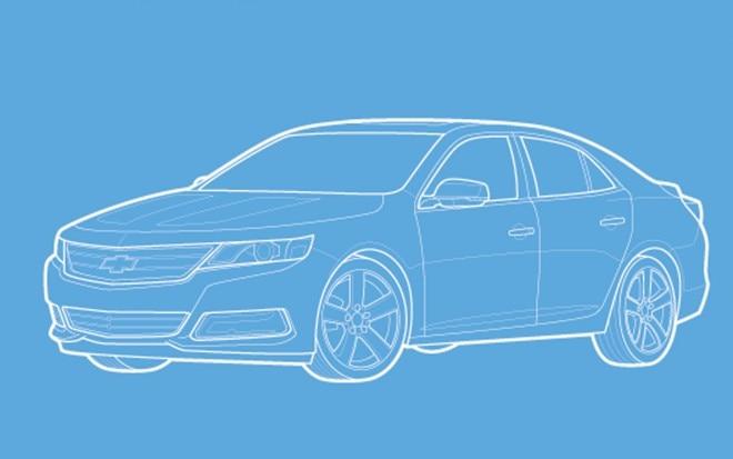Chevrolet Malibu Sketch 660x413