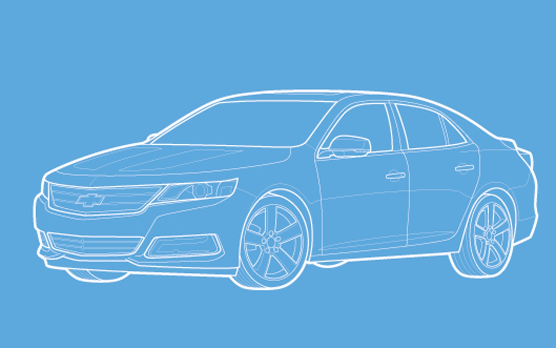 Chevrolet Malibu Sketch