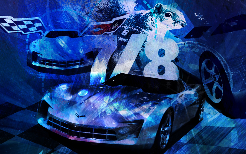 Corvette Illustration Cropped
