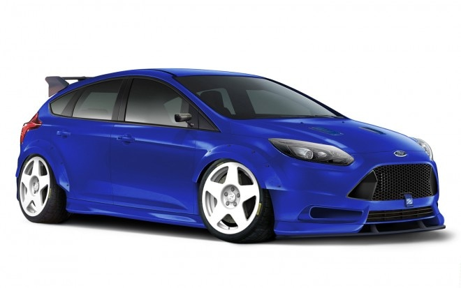 Ford Focus TrackSTer Front Three Quarter1 660x413