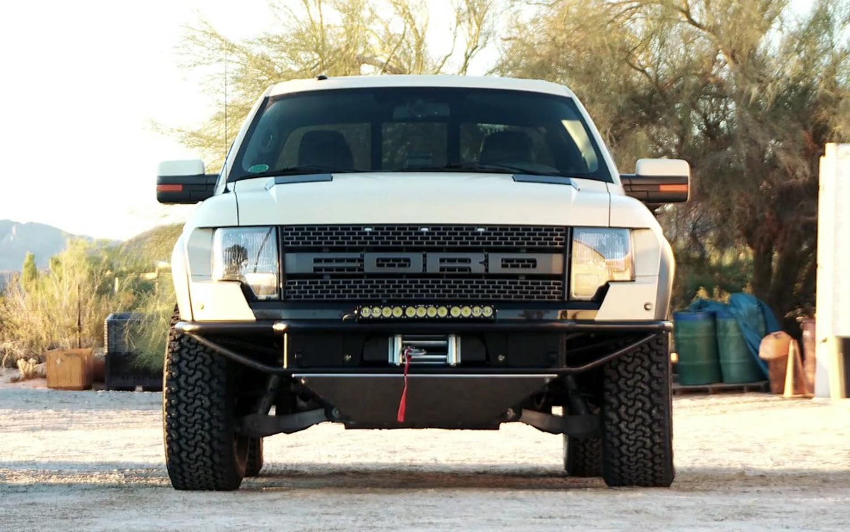 Ford Raptor Desert Proofing Front1