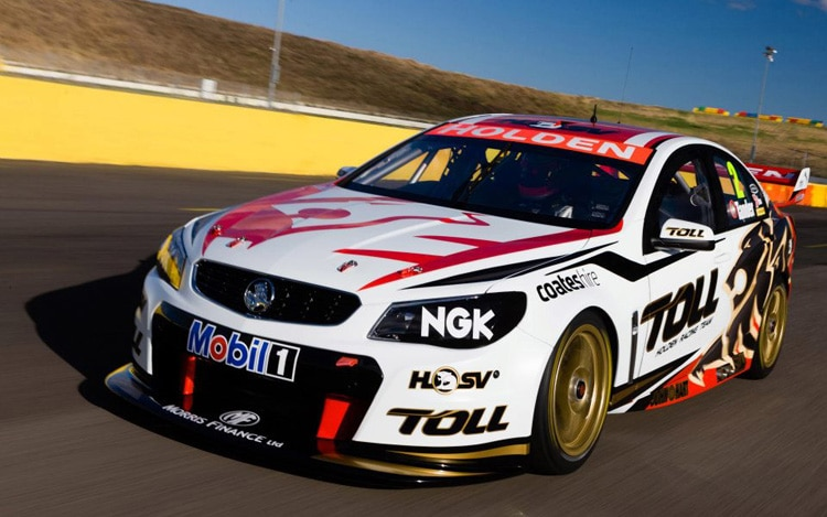 Holden Racing Team VF Commodore Front Three Quarter1