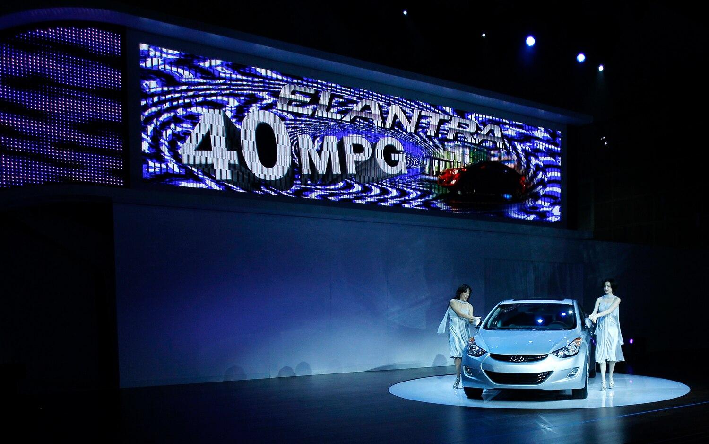 Hyundai Elantra Front View