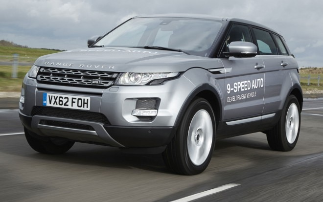 Land Rover ZF 9 Speed Development Vehicle Fron Three Quarter Motion1 660x413