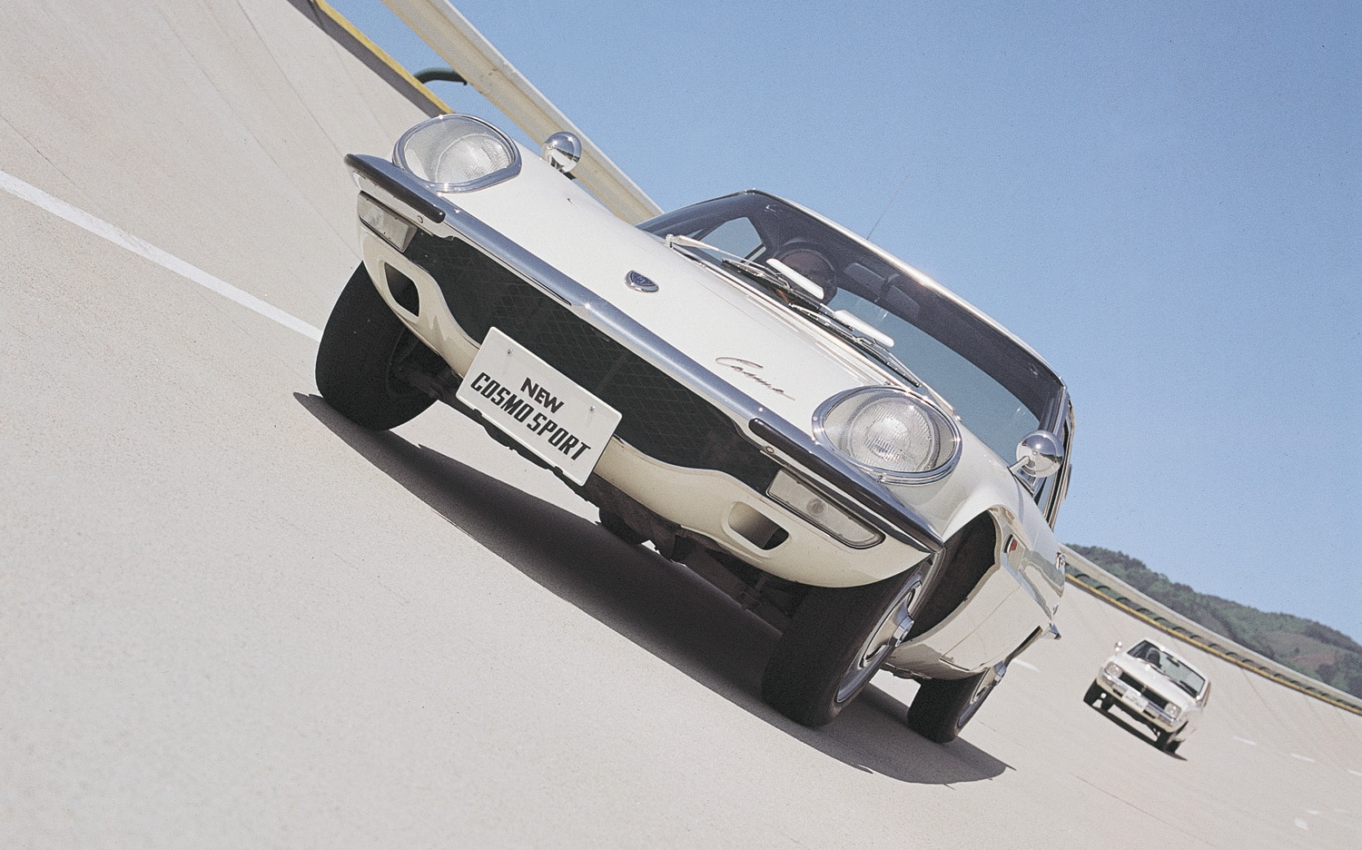 Mazda Cosmo Sport Front View On Track1