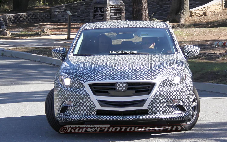 Mazda3 Hatchback Spy Shot Front End 11