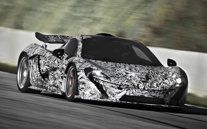 McLaren P1 Front Three Quarter111 660x413